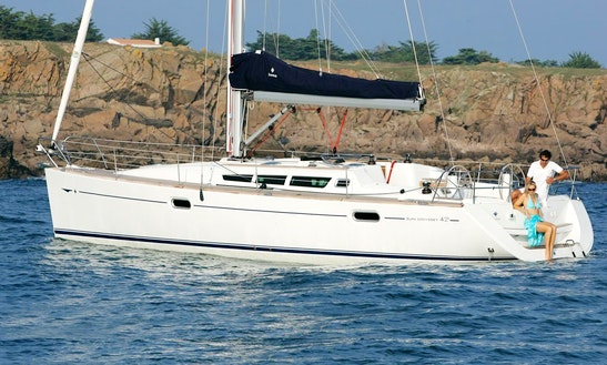 'geormar' Sun Odyssey-42 Sailing Charter In Chios