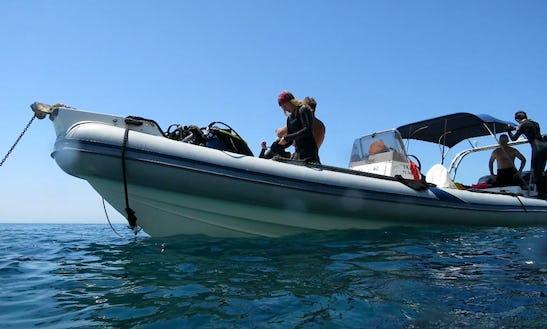 Diving Trips & Courses In Santorini, Greece