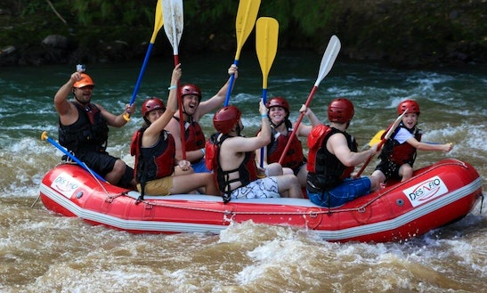 River Rafting On Balsa River