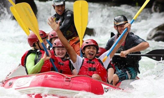Whitewater Rafting On Sarapiqui River