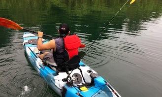 Kayak Fishing Expedition on Lake Arenal