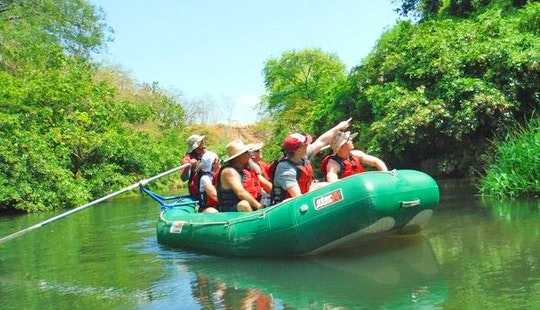 Safari Float On The Tenorio River
