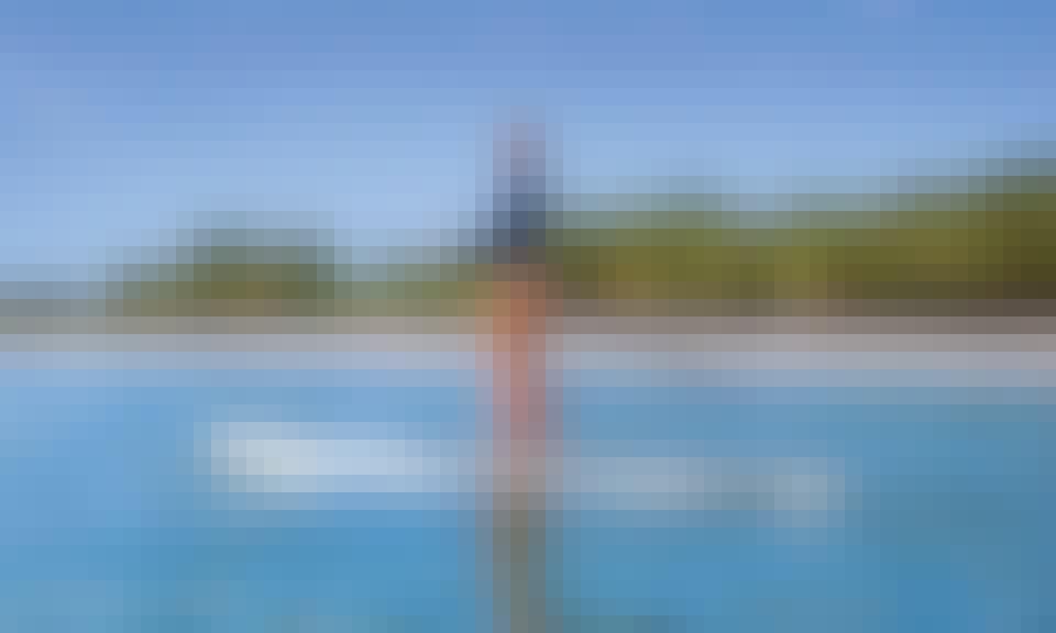 Stand Up Paddleboarding In Playa Samara
