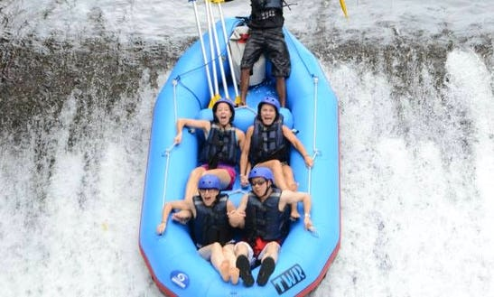 Whitewater Rafting In Seminyak Indonesia