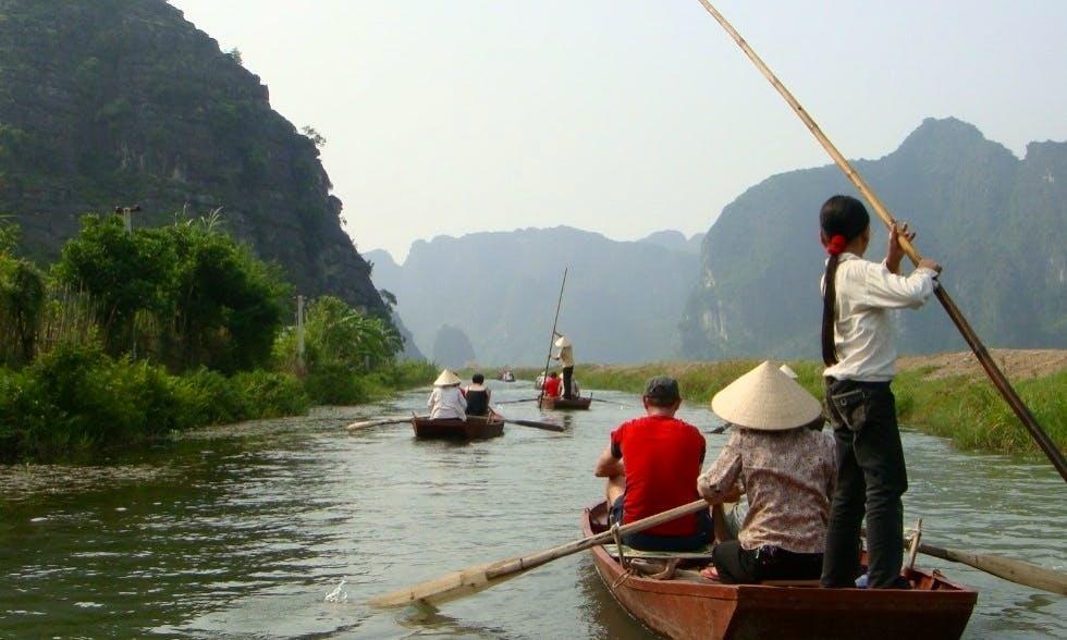Row Boat Tour In Hanoi
