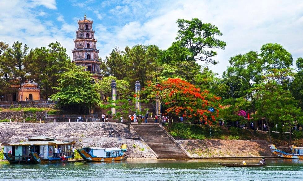 River Cruise in Hue, Vietnam
