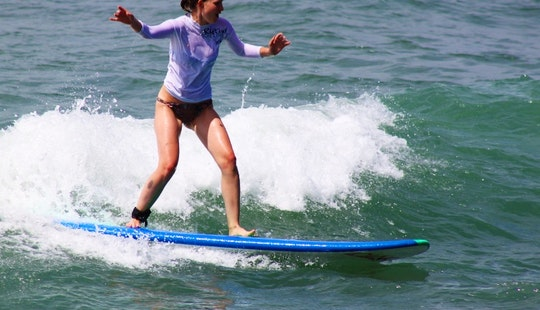 Surfing Lessons In Canggu Indonesia