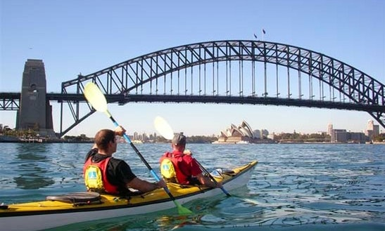 Sea Kayak Tour In Milsons Point