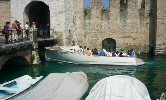 Enjoy Sirmione, Italy On 'serenissima' Boat