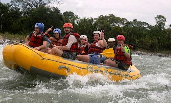Rafting Day Trips In Tena, Ecuador