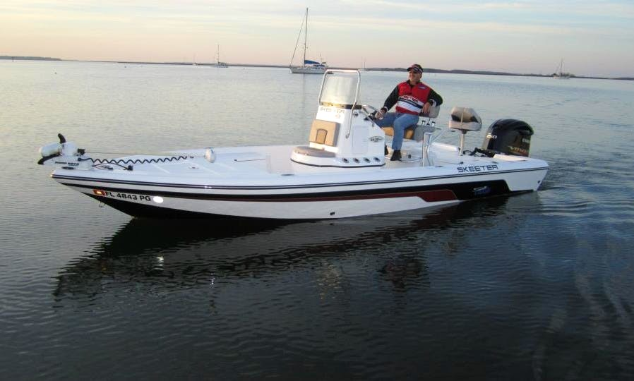 17ft Center Console Boat Fishing Charter In Rockledge, Florida