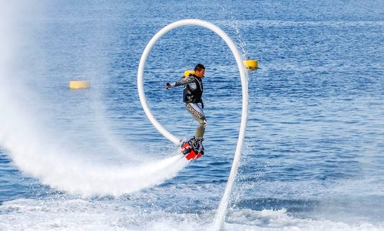Flyboard Ride In Rome
