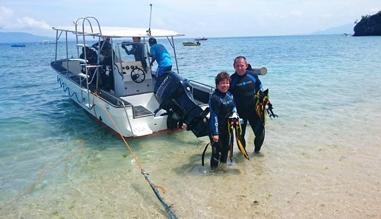 Scuba Driving In Puerto Galera (philippines)(6 Capacity Motor Yatch)