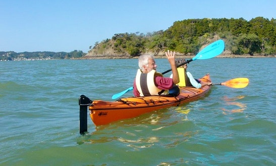 Tandem Kayak Trip In Paihia, New Zealand