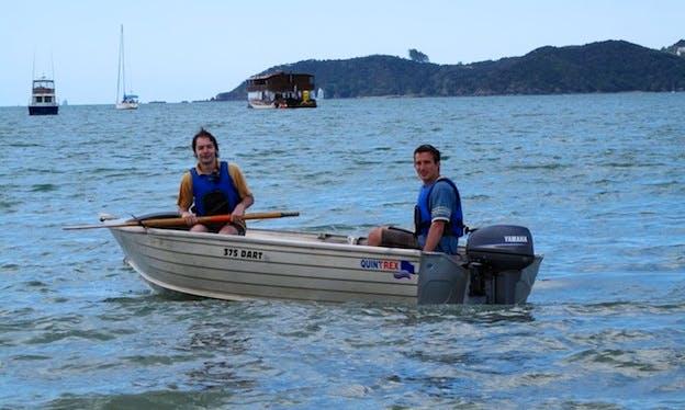 Dinghy Boat Rental in Paihia, New Zealand