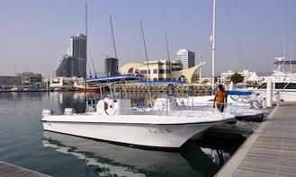Fishing Trip on Center Console in Fujairah, UAE