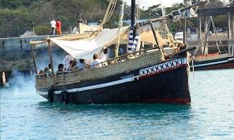 Dolphin Tour Boat Mombasa Diani to Wasini Kisite Marine Park