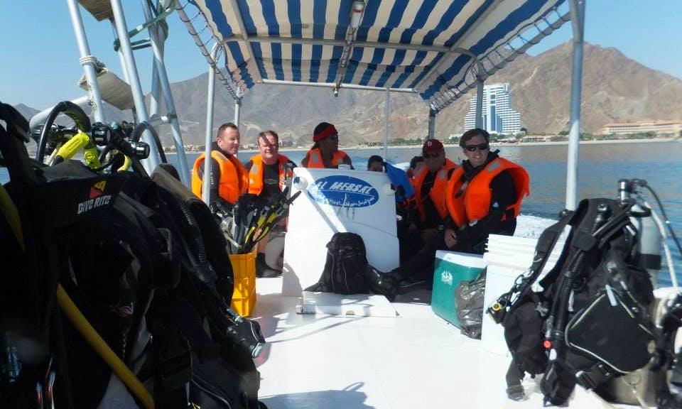 Passenger Boat Diving Charter in Al Aqah, United Arab Emirates