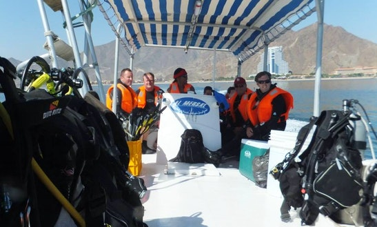 Passenger Boat Diving Charter In Al Aqah, United Arab Emirates