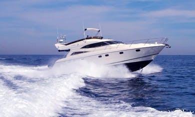 Princess 56' Motor Yacht Charter in Benalmadena, Spain