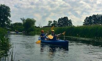 2 seater Canoe Rental in Konin, Poland