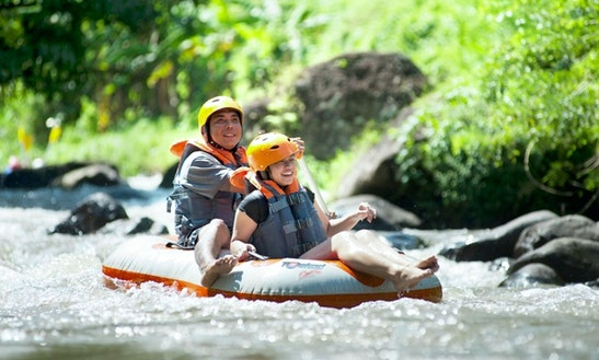 Ayung River Tubing In Indonesia