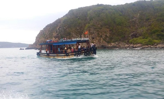 Rent This Traditional Vietnamese Boat For Up To 25 People!