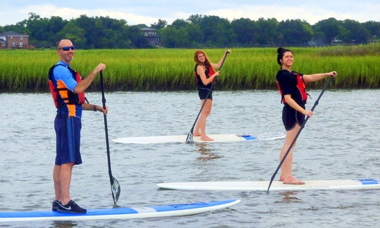 Paddleboard Rental In Charleston