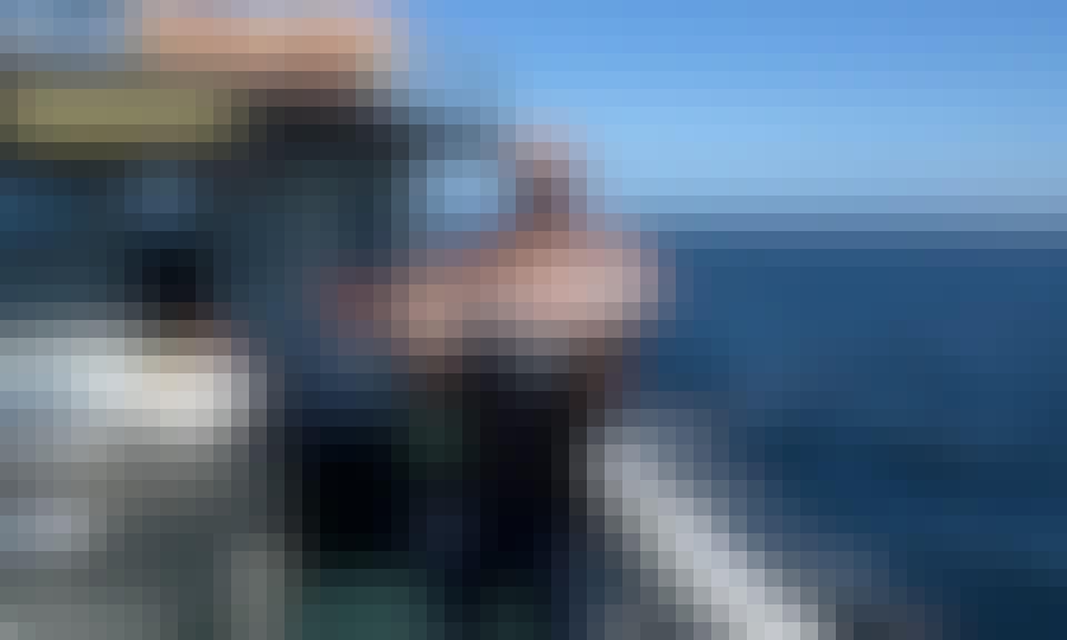 Hire 55' Flybridge Cruiser Fishing Charter in Saint Kilda