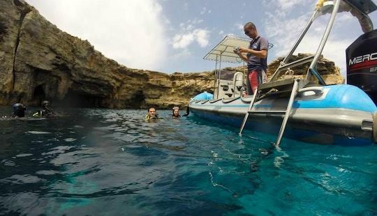 Rib Diving Charter In San Pawl Il-bahar, Malta