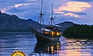 82' Sailing Gulet Charter in Komodo, Indonesia