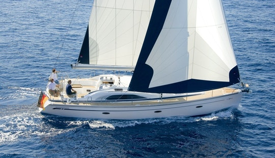 Sail The Waters Of Primošten, Croatia Aboard A Bavaria 44 Sailing Yacht For 13 Persons