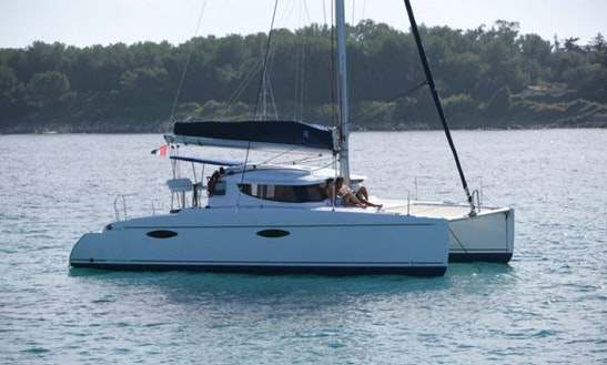 36' Cruising Catamaran In Seychelles