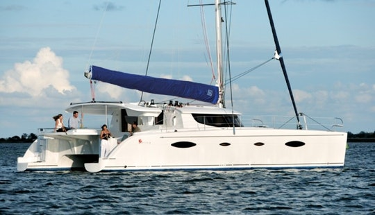 48' Cruising Catamaran Charter In Seychelles