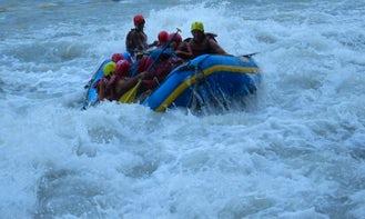 Rafting in Bhitaha
