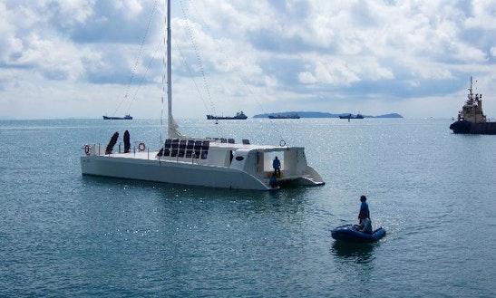 Power Catamaran  In Thailand