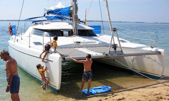 Lavezzi-40 Sailing Catamaran Courses In La Rochelle