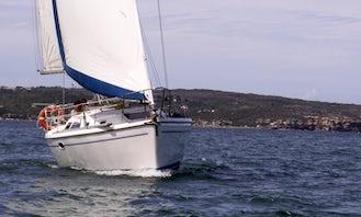 Sailing Sydney Harbour on Luxury Sailboat