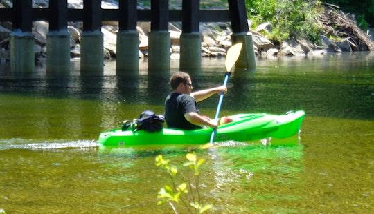 Single Kayak Rental In Conway