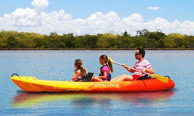 Triple Kayak Hire In Noosaville