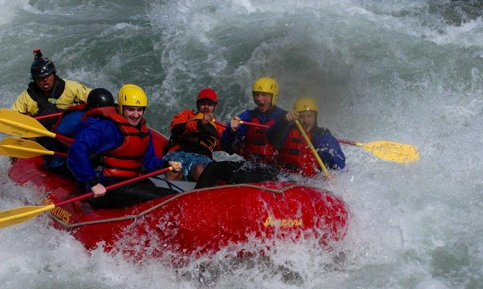 Fun Rafting Trips in Providencia, Chile