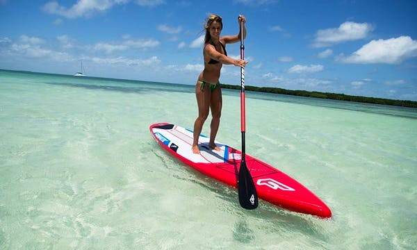 Paddleboard Rental and SUP Lessons at Alykes Beach in Zakinthos, Greece