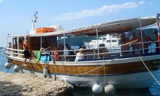 Passenger Boat Charter In Rovinj, Croatia