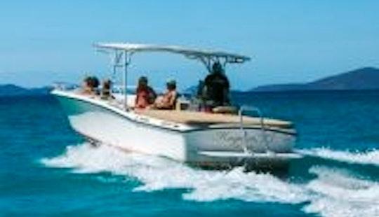 32' Ocean Pro Center Console Charter In Cruz Bay, U.s. Virgin Islands