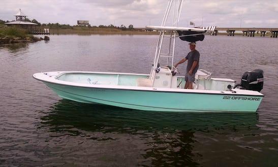 24' Center Console Fishing Boat In Orange Beach, Alabama, United States