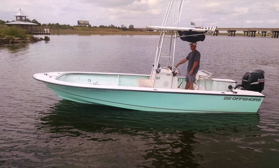 24' Center Console Fishing Boat In Orange Beach, Alabama, United States
