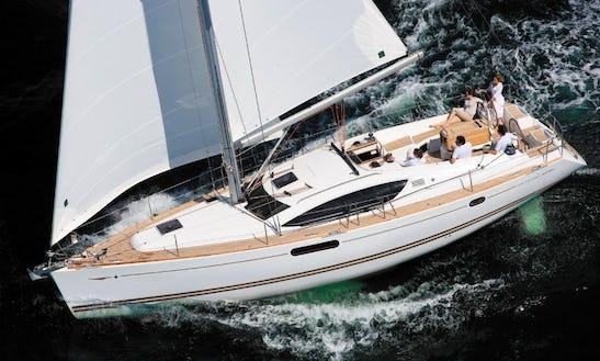 Charter Sun Odyssey 45 Sailing Yacht In Croatia