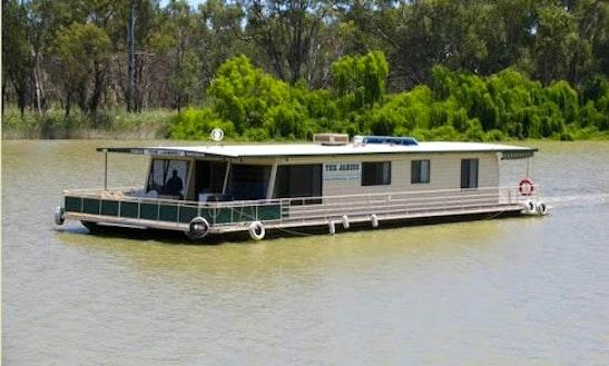 'the Jabiru' Houseboat Hire In Paringa, Australia