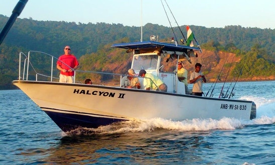 Guide Fishing On 'halcyon Ii' From Port Blair, India