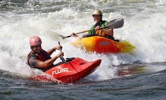 Introduction to White Water Kayaking, Jinja, Uganda
